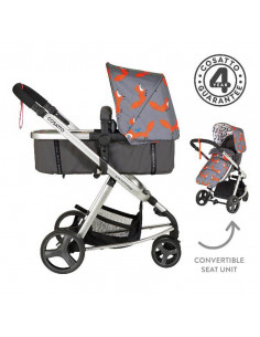 Coche duo Cosatto Giggle Mix Mister Fox