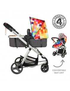 Coche duo Cosatto Giggle Mix Pixelate