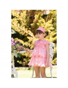 Vestido para niña Coral de Dolce Petit Verano