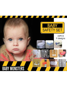 Set de seguridad para bebés de Baby Monsters