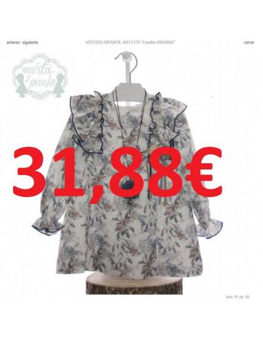 c52356dcf5 Vestido para niña Virginia de Marta y Paula Invierno