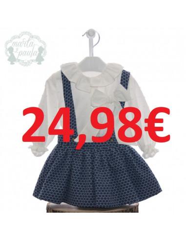 d6d79f94c Conjunto de falda para niña Virginia de Marta y Paula
