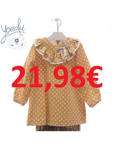 7c9dd6390e Vestido para niña Fábulas Yoedu Invierno
