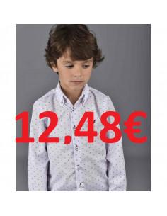 Camisa niño Punto Estampado La Ormiga Invierno