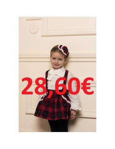 34544655ed Conjunto para niña Escoces de Dolce Petit Ver más grande