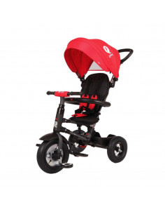 Triciclo plegable Q Play Rito air rojo