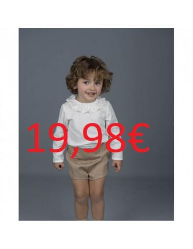 28359082b1 Conjunto de bebé para niño FLORES ROJAS AZULES GRANDES de La Ormiga