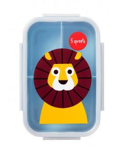Tupper infantil león de 3 Sprouts