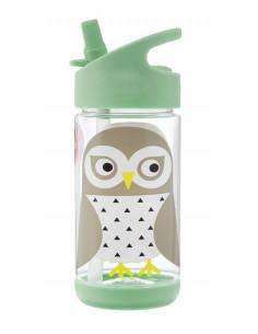 Botella infantil búho de 3 Sprouts