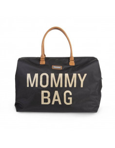 Bolso maternal Child Home Mommy Bag negro dorado