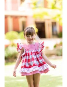 Vestido para niña Amapola de Dolce Petit Verano