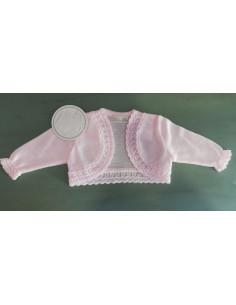 Rebeca de bebe para niña Rosa de Dolce Petit Verano