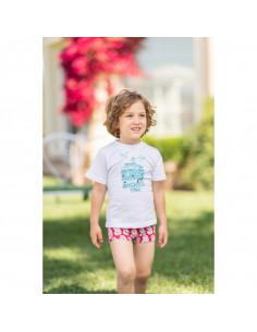 Camiseta para niño Piñas de Dolce Petit Verano