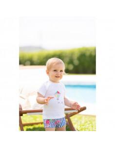 Boxer para bebe Floral de Dolce Petit Verano