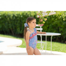 Bañador para niña Floral de Dolce Petit Verano
