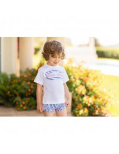 Camisa para niño Floral de Dolce Petit Verano