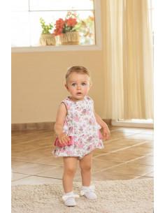 Ranita para bebé Flores de Dolce Petit Verano