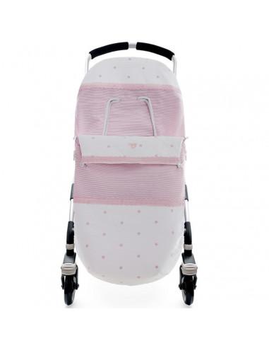 Saco para silla de paseo coordinado Natali de Uzturre