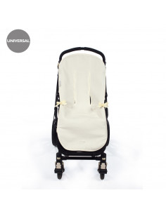 Colchoneta para silla de paseo Nido Beige de Pasito a Pasito