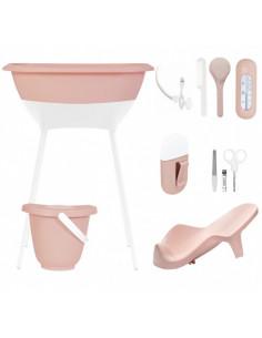 Set de baño peach moon de Luma Babycare