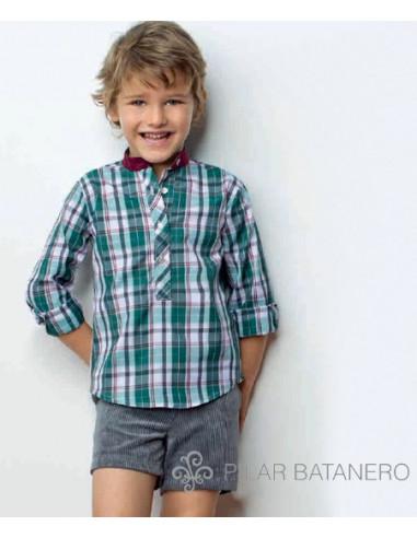 Camisa cuadros con codera invierno 2014 Pilar Batanero