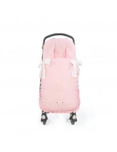 Saco para silla de paseo Triana Rosa de Pasito a Pasito