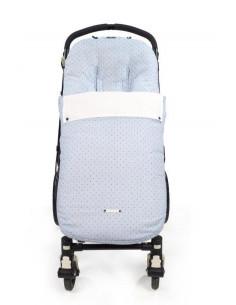 Saco para silla de paseo Triana Azul de Pasito a Pasito