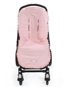 Colchoneta para silla de paseo Triana Rosa de Pasito a Pasito