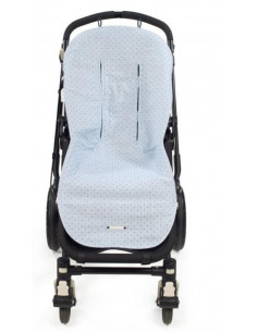 Colchoneta para silla de paseo Triana Azul de Pasito a Pasito