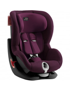 Silla de auto Grupo 1 King II Burgundy Red