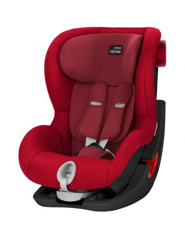 Silla de auto Grupo 1 King II Flame Red