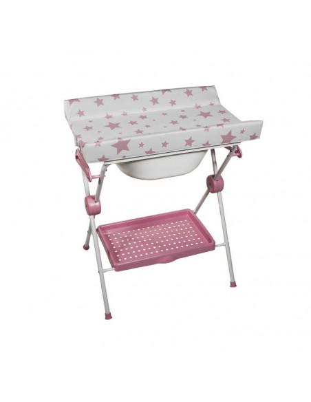 Bañera Plegable Lea Estrellas rosa