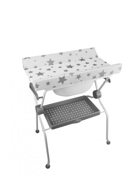 Bañera Sobrebidé Ada Estrellas grises