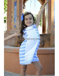 Vestido niña Piamonte de Yoedu Verano