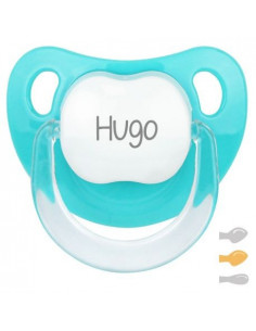 Chupete Baby Personalizado Turquesa de Mi Pipo