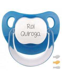 Chupete Baby Personalizado Azul Denim de Mi Pipo