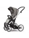Coche bebé 2 piezas Evo de Mutsy gris chasis aluminio
