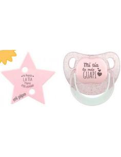 Pack Dúo Glitter Estrella Rosa de Mi Pipo