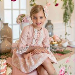Vestido para niña Helena de Dolce Petit Invierno