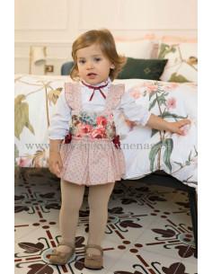 Conjunto de bebé para niña Flora