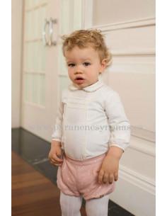 Conjunto de bebé para niño Helena de Dolce Petit Invieno