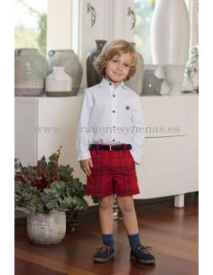 Pantalón corto para niño Escocia