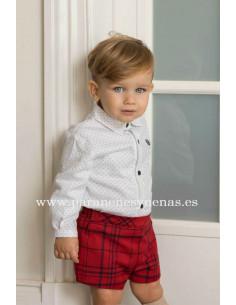 Conjunto de bebé para niño Escocia