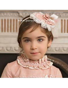 Diadema-Pinza para niña Helena