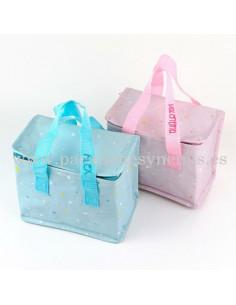 Bolsa Isotérmica Estrellitas Azul personalizada de Mi Pipo