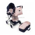 Cuco y silla de muñecas grande Charlotte La Nina