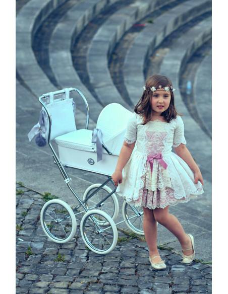 Cochecito de muñecas Bebelux Sweet Perla