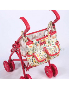Bolsa para carrito de muñecas Valeria de La Nina
