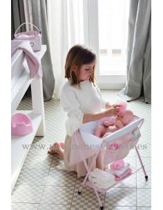 Bañera para muñecas Charlotte de La nina