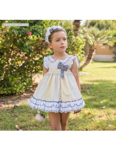 Vestido para niña infantil Margarita